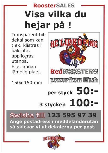Köp HCLs Bildekal !