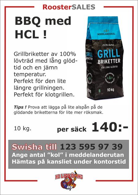 Köp HCLs BBQ Grillkol !