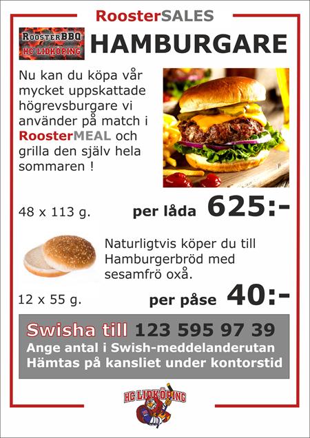 Köp HCLs BBQ Högrevsburgare !