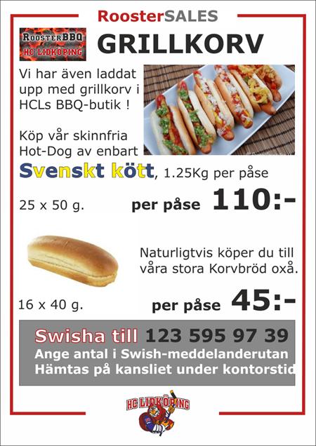 Köp HCLs Hot-Dog !